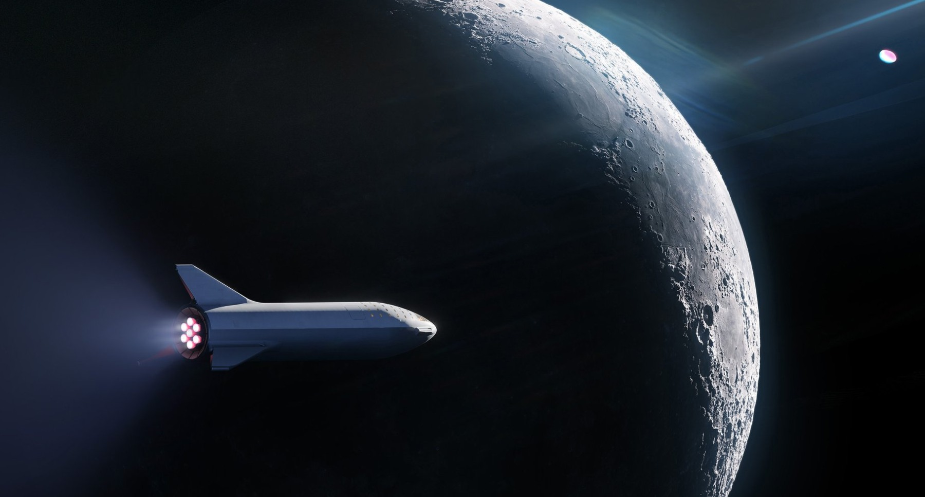SpaceX booked 'world's first' private passenger for a BFR ...