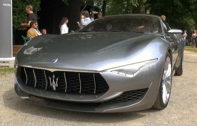 【ビデオ】重々しいエンジン音が響く! マセラティのコンセプト「アルフィエーリ」の映像