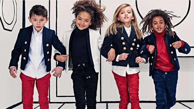 Balmain new kids' collection