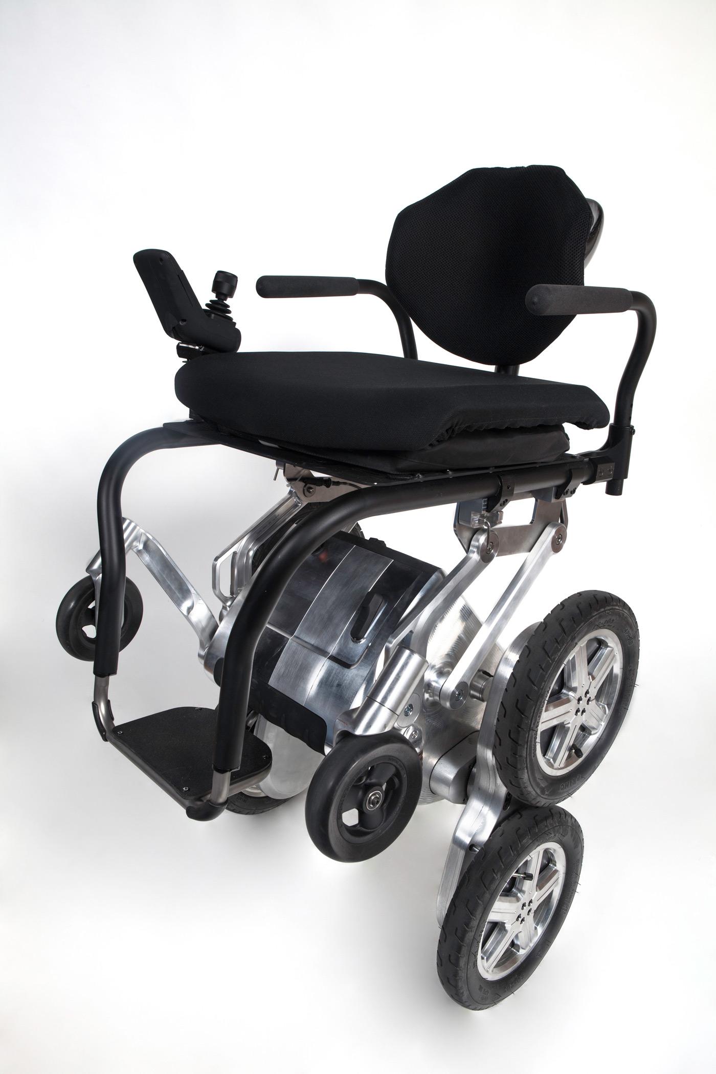 Next-generation iBot wheelchair prototype