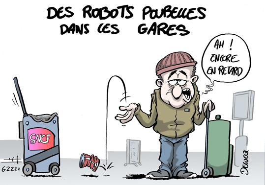 La SNCF prend-elle vraiment de l'avance avec son robot