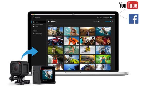 gopro 用のpc向け公式アプリ gopro app for desktop 提供 写真 動画
