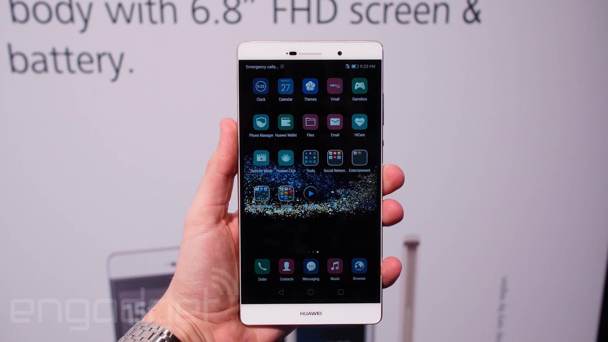 15b770c457562 Huawei sin complejos  P8max con pantalla de 6