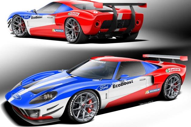 スーパーフォーマンス社が 現行型 フォード gt のv6ツインターボを
