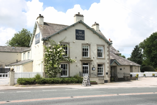 The Plough at Lupton exterior