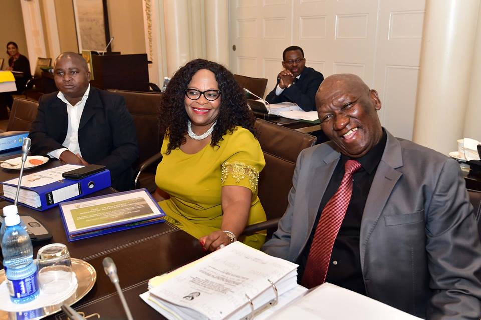 Bheki Cele may be forced to go without his hat during Cabinet meetings, but he sure can pose! And it's...