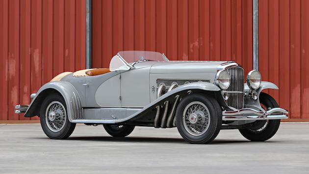 ゲイリー・クーパーが所有した1935年製デューセンバーグ「SSJ」がオークションに登場 落札予想価格は11億円超