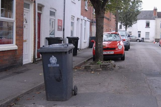 The wheelie bin that led to police being called