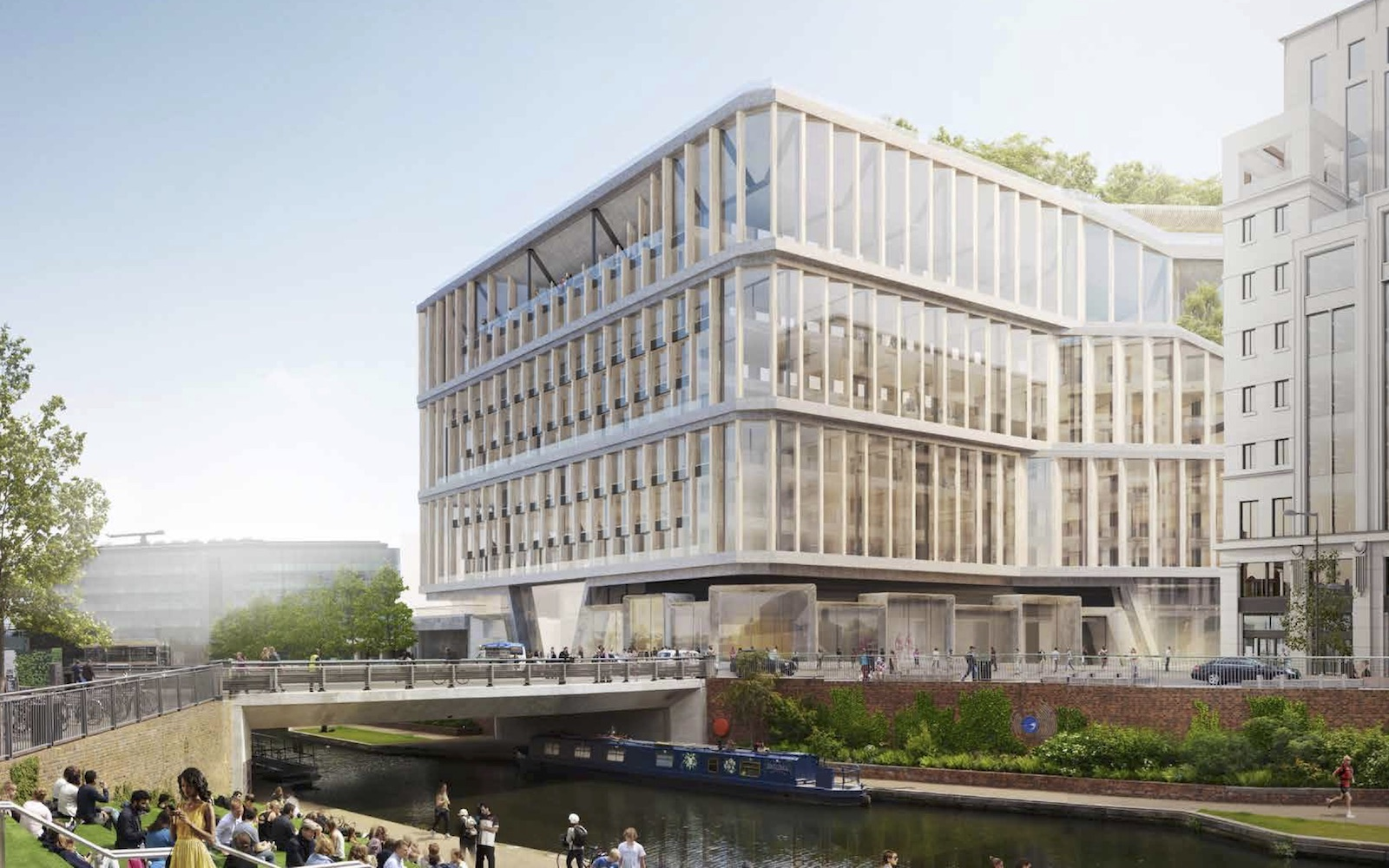 Google applies for 92000 sqm London headquarters
