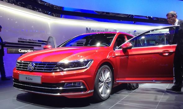VW Passat Paris motor show