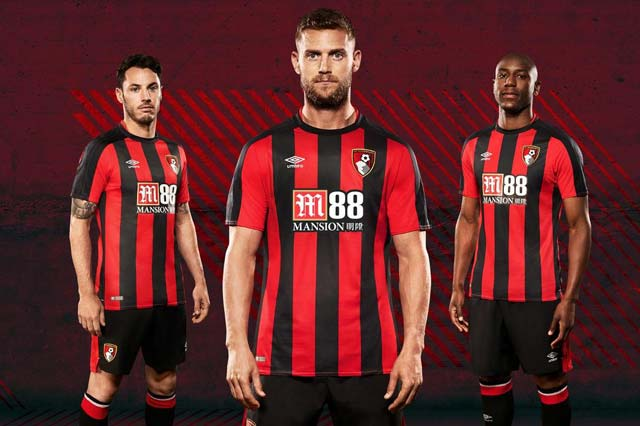 Bournemouth AFC Home Kit 2017/18