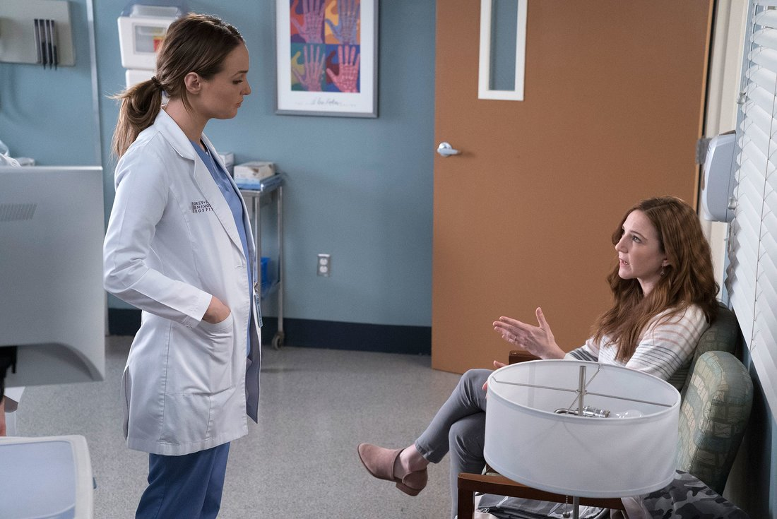 "GREY'S ANATOMY - ""Judgement Day"" (ABC/Byron Cohen) CAMILLA LUDDINGTON, SARAH UTTERBACK"