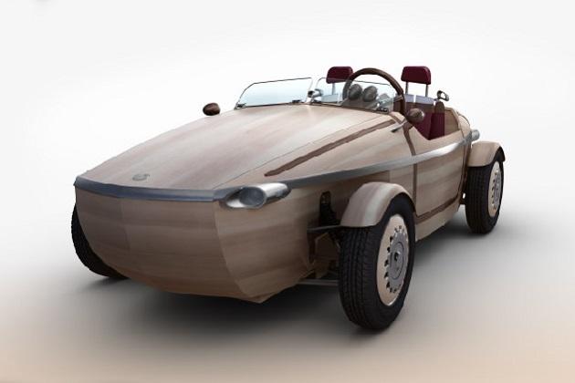 トヨタ、車体が木で作られたコンセプトカー「SETSUNA」をミラノデザインウィークに出展