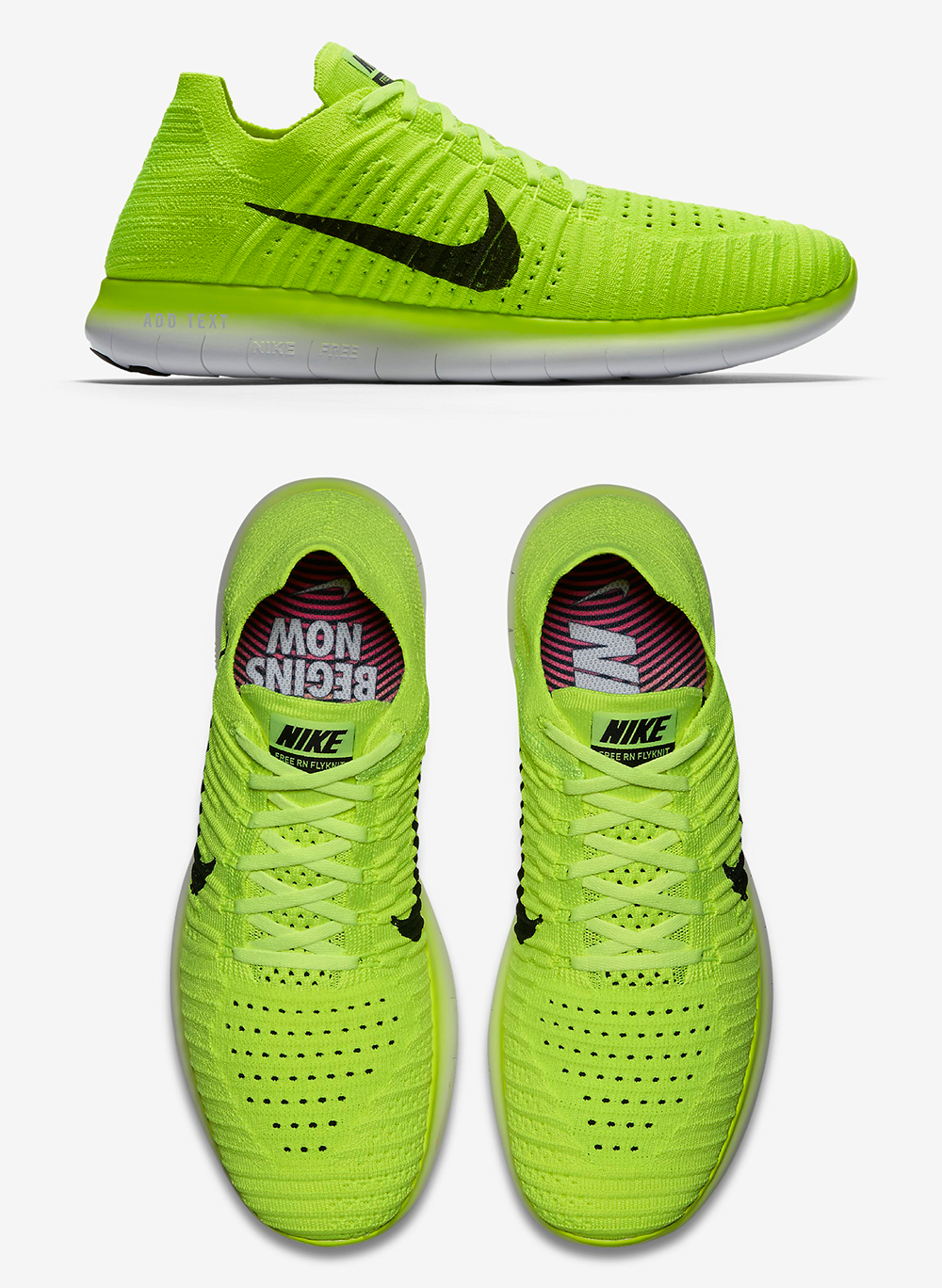 Nike USA podium neon shoes