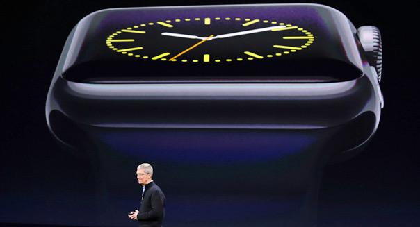 tim cook apple unveils smartwatch