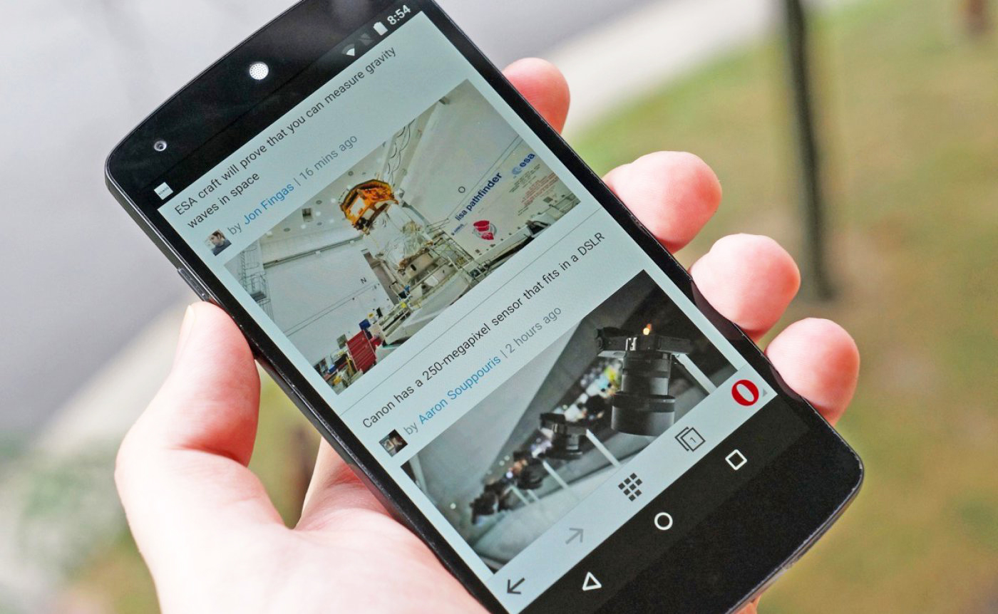 Phone Opera Mini For Android Phones opera minis built in video compression finally hits android