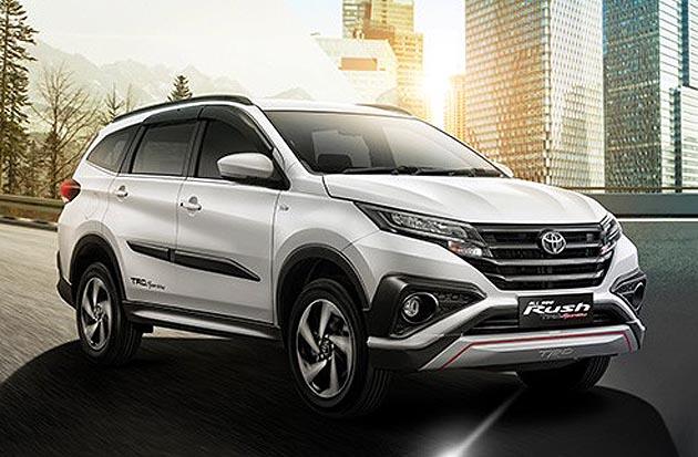 なんとtrdバージョンも 小型7人乗りsuvのトヨタ「ラッシュ」がインドネシアで登場 Autoblog 日本版