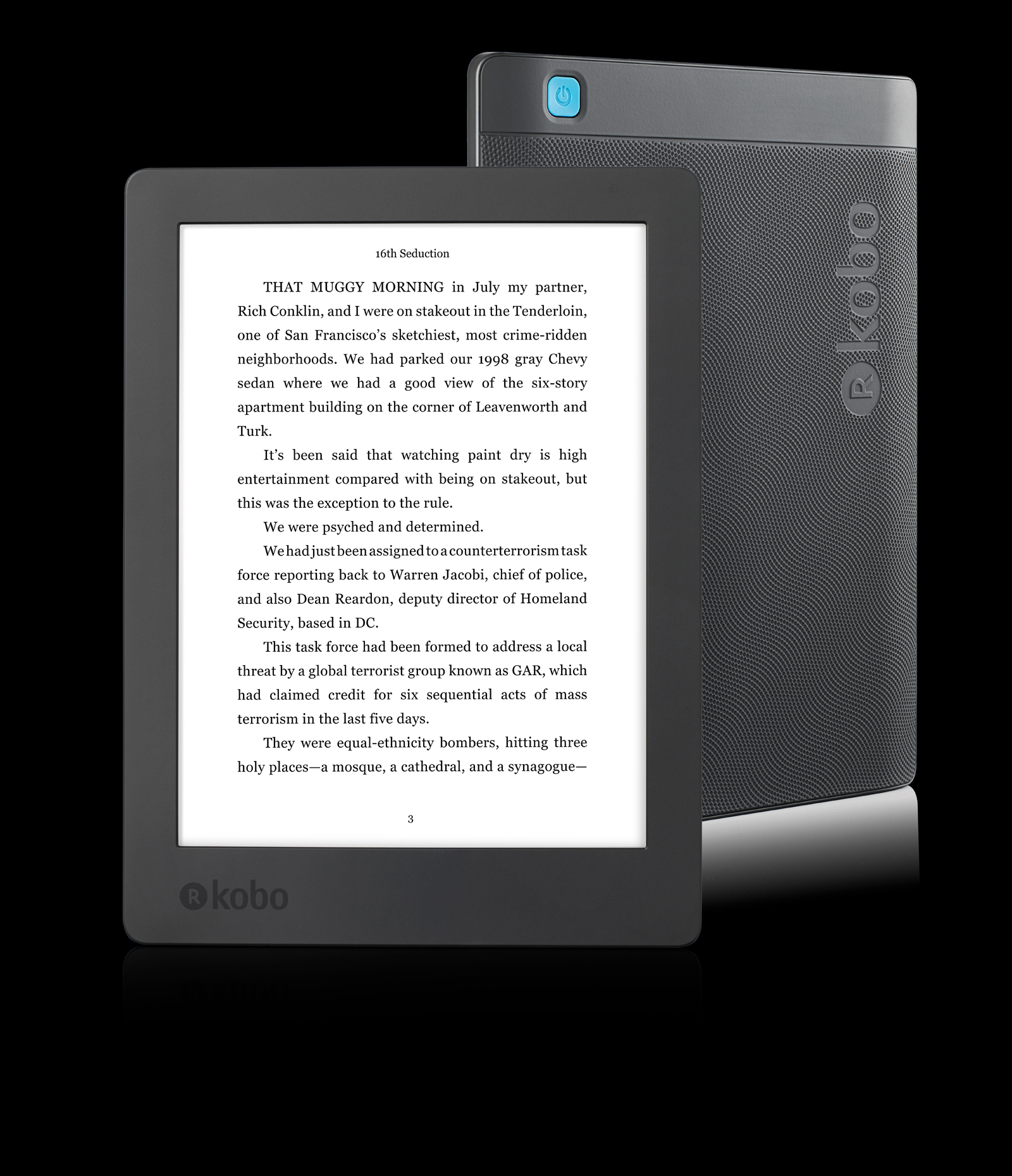 Kobo's latest waterproof e-reader is sized for poolside reading