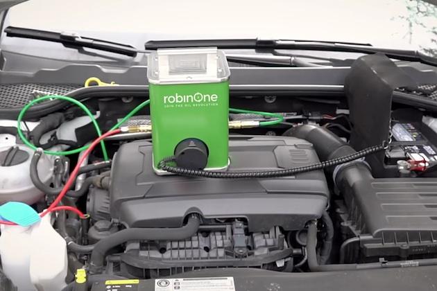 【ビデオ】20万kmオイル交換必要なし! 自宅で簡単にエンジン・オイルを清浄化できる装置がドイツから登場