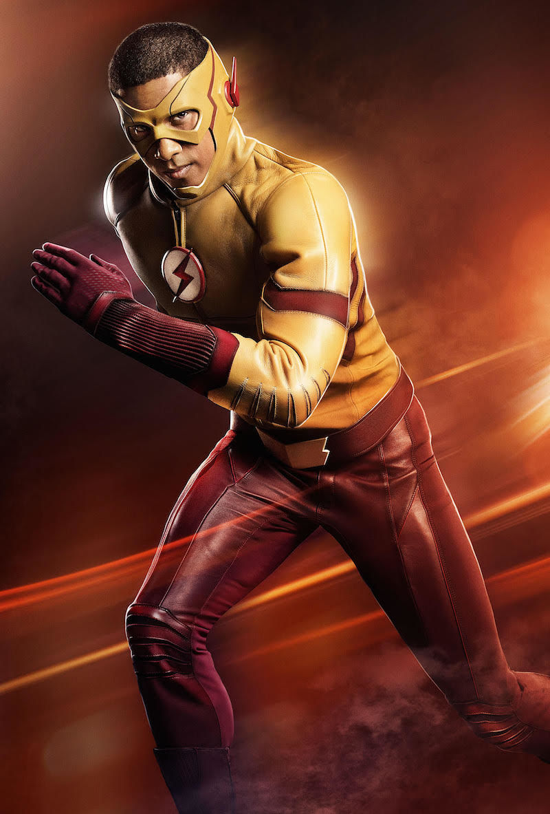kid flash, wally west, Keiynan Lonsdale, the flash, season 3, first look