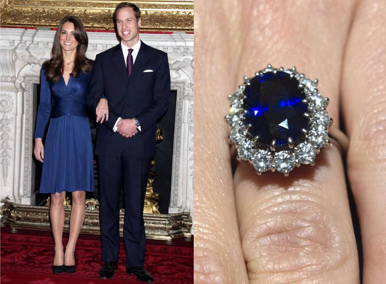 Stunning celebrity engagement rings