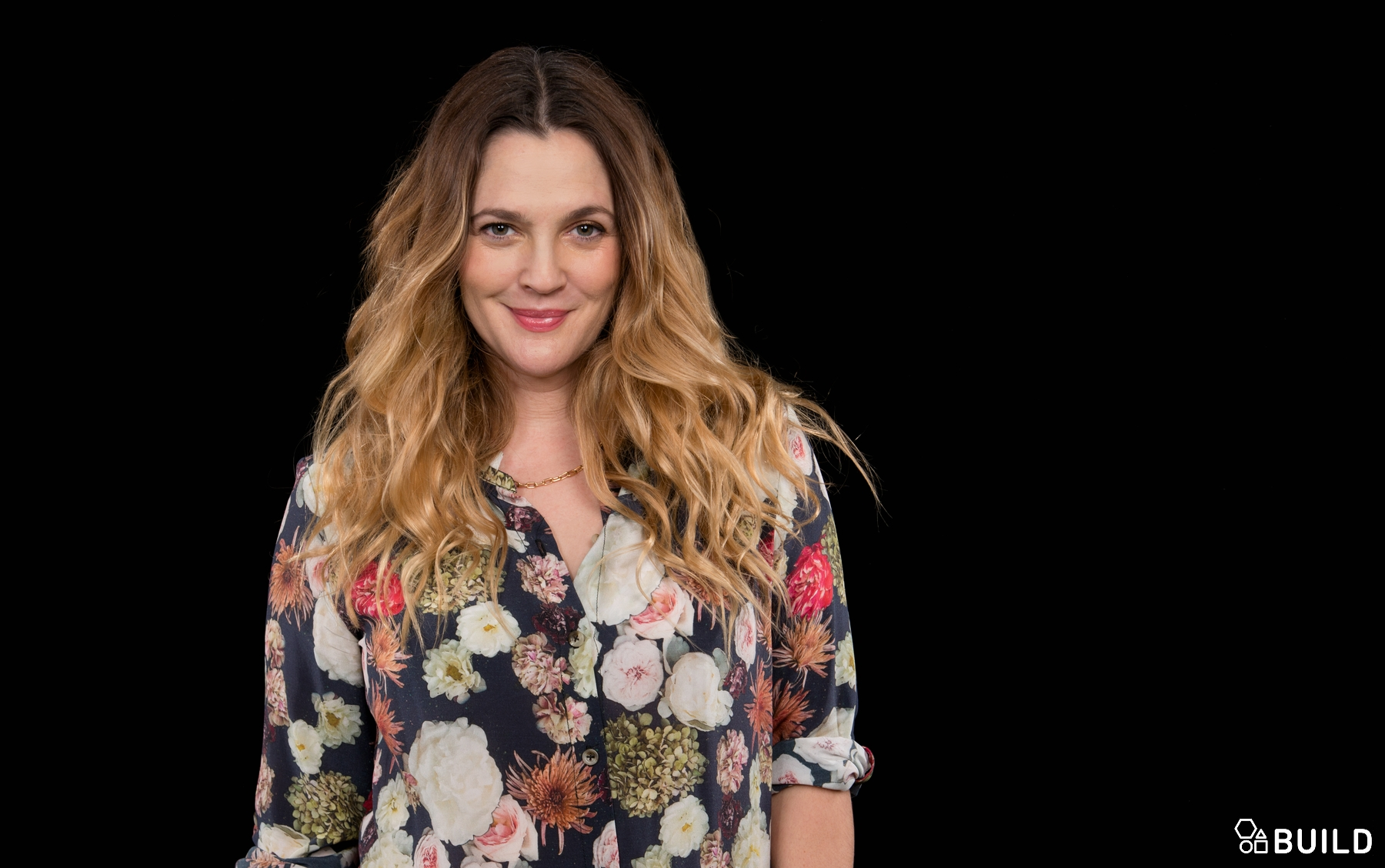 Drew Barrymore visits AOL Hq for Build on December 17, 2015 in New York. Photos by Noam Galai