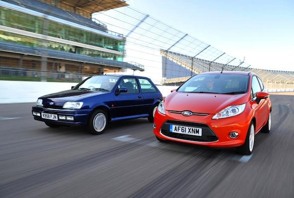 Ford Fiestas