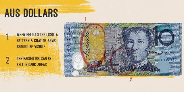 australia dollar bill fake