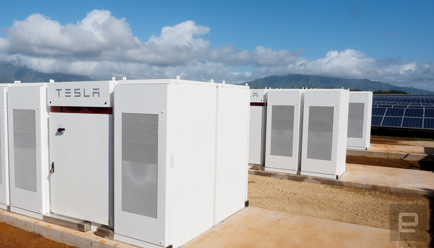 Tesla's new solar energy station will power Hawaii at night