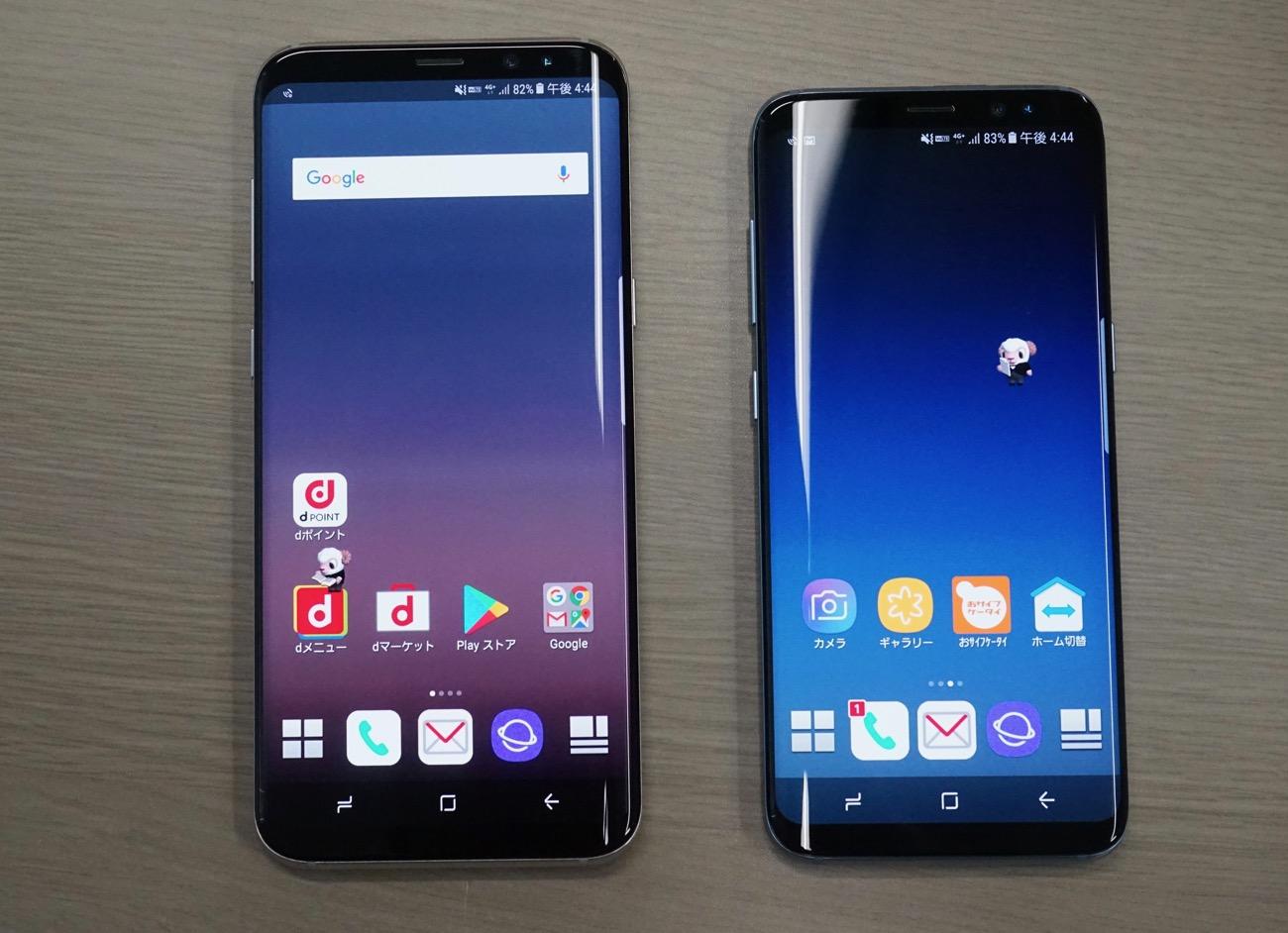 Galaxy S8 / S8+、ドコモ版は6月8日に発売決定。前日までの予約でGear VRが無料に , Engadget 日本版
