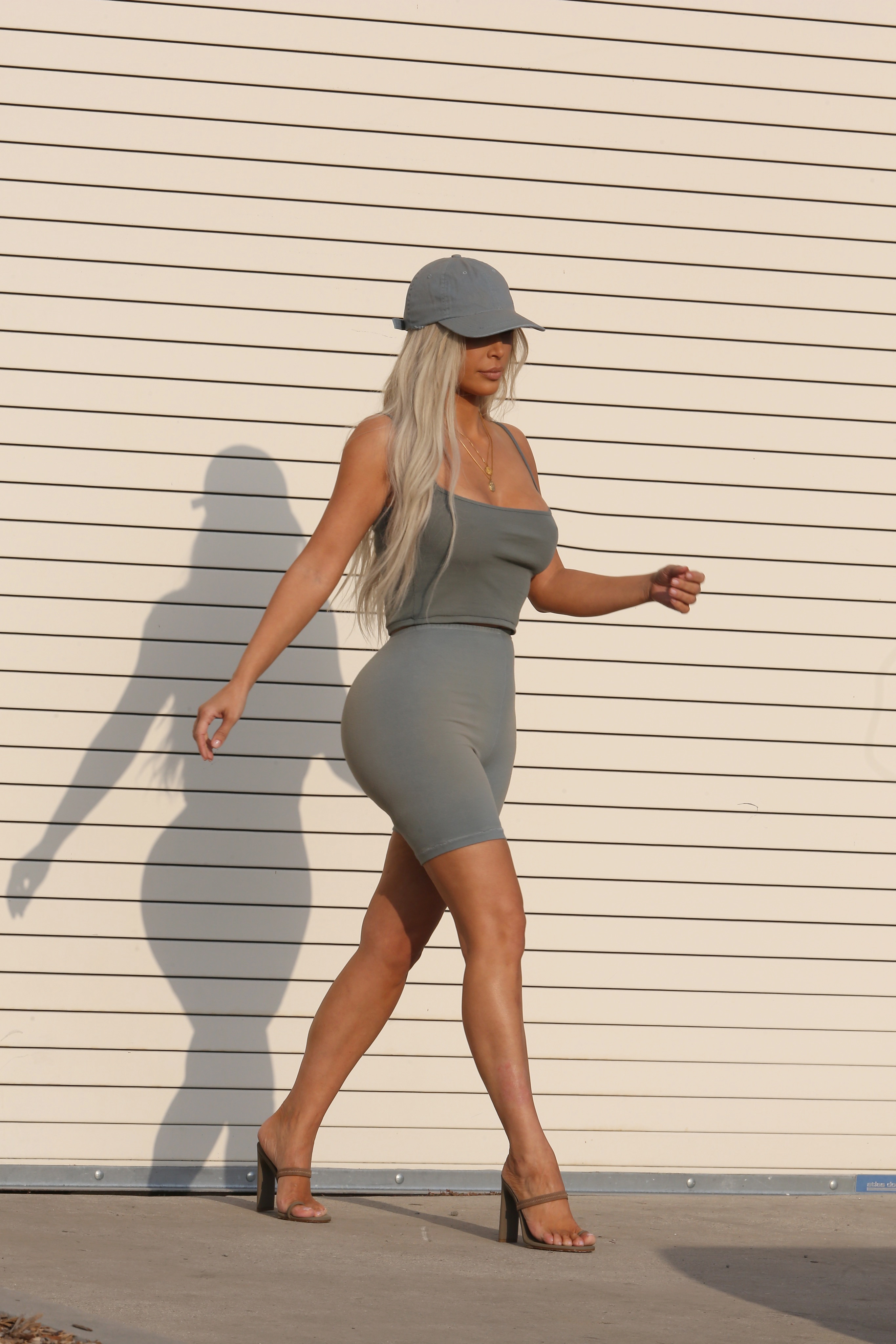 36b46f93759ba Kim Kardashian teases Kanye West s new Yeezy collection -- check out ...