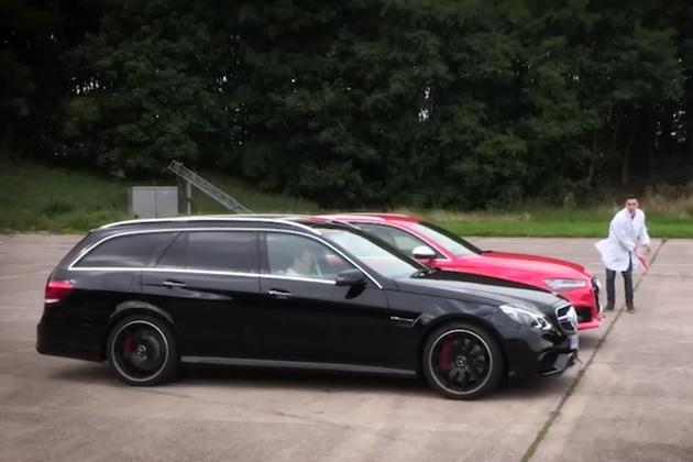【ビデオ】アウディ「RS6アバント」とメルセデスAMG「E 63 S」が『トップギア』でドラッグレース対決!