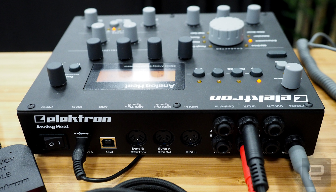 elektron 39 s analog heat upgrades your synth and drum machine. Black Bedroom Furniture Sets. Home Design Ideas