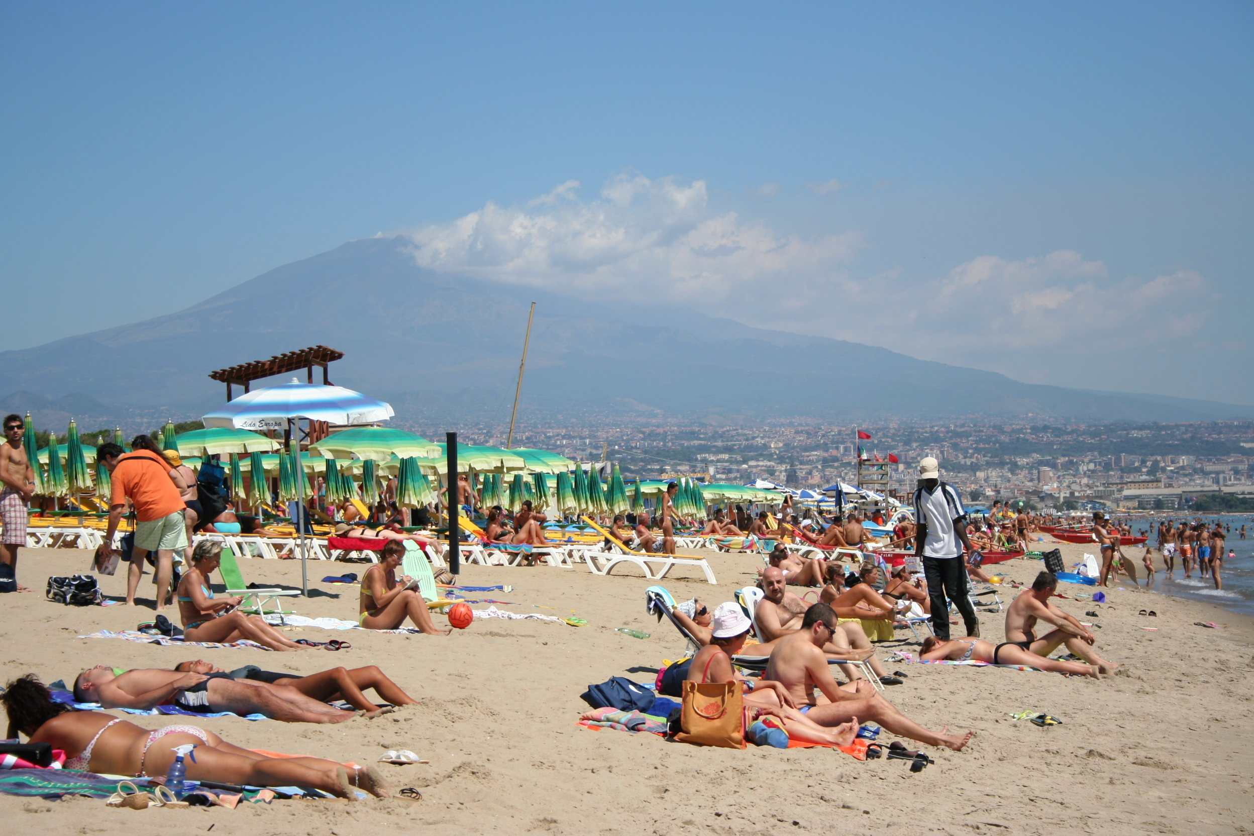 Beach vacation in Sicily