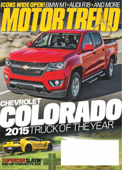2015 Motor Trend Truck of the Year, Chevy Colorado