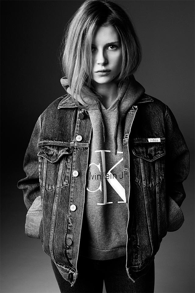 Lottie Moss, Calvin Klein x My Theresa