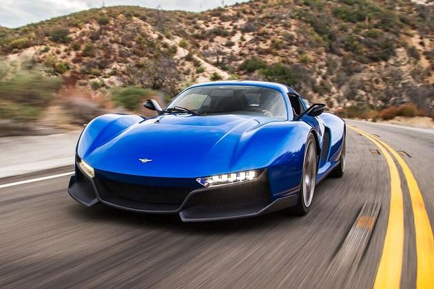 レズヴァニ・モーターズ、ユニークなドアを持つスーパーカー「ビースト・アルファ」をLAオートショーで発表
