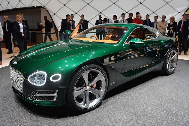 【ジュネーブ2015】ベントレー、2人乗りスポーツカーのコンセプト「EXP 10 スピード 6」を発表!