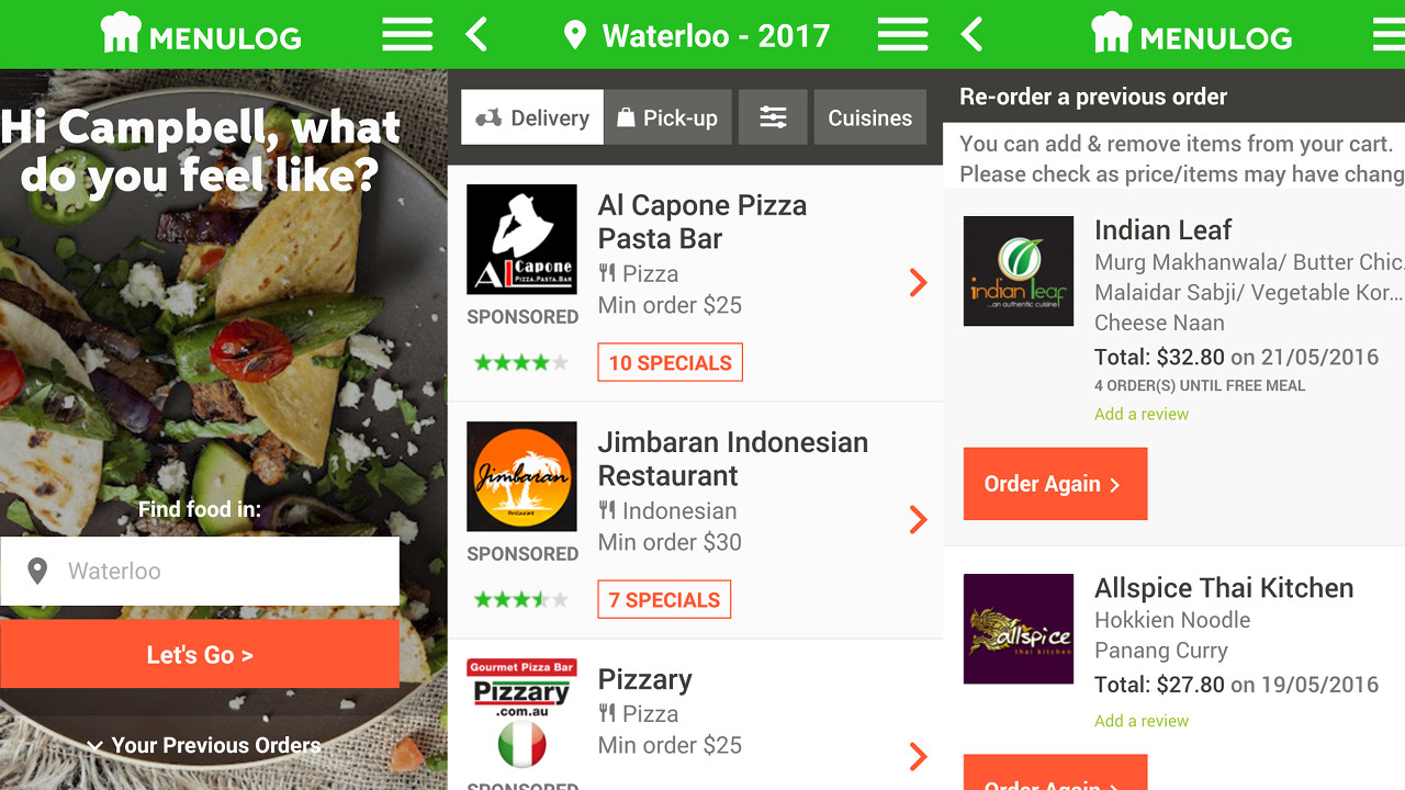 12 food and cooking apps absolutely everyone should have 6 menulog free forumfinder Images