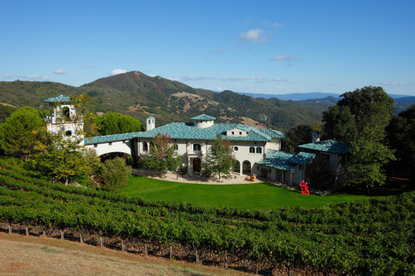 robin williams house napa valley