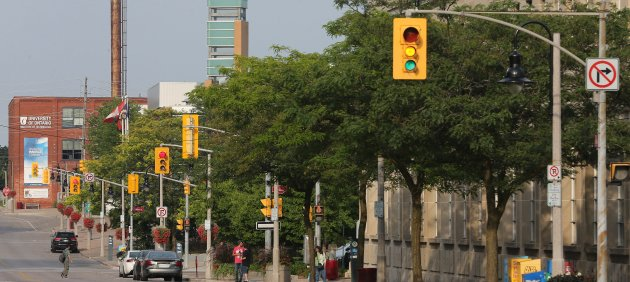 OSHAWA, ON- AUGUST 3 - University of Ontario booked a street with the Tribute Centre. Oshawa is among...