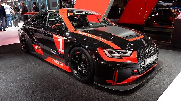 【パリモーターショー2016】アウディ、TCRシリーズ参戦用レースカー「RS3 LMS」を公開