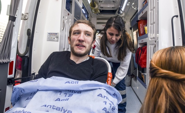British student survives four days in Turkish cave with no food