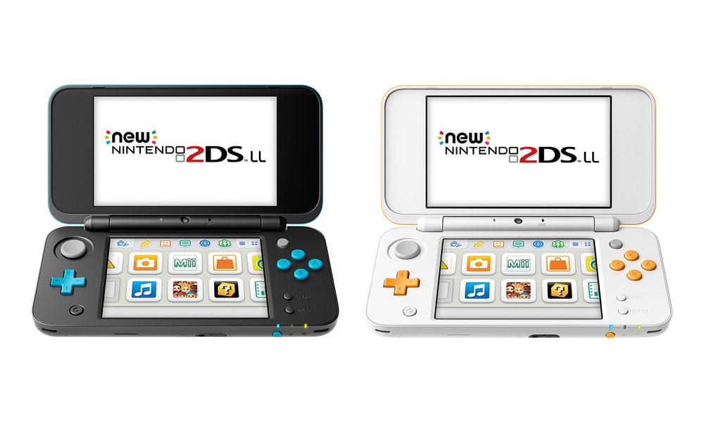 Newニンテンドー2DS LL発表。3DS LL同様の折りたたみ筐体に進化、C ...