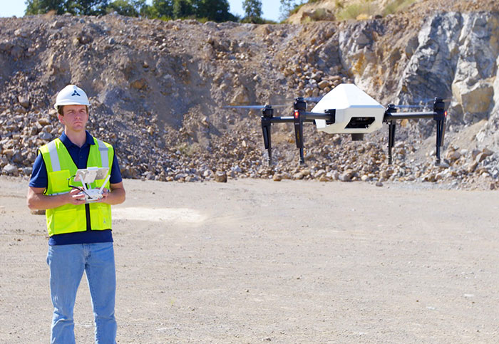 DJI is building 1,000 custom drones for a construction company