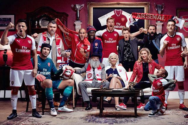 Arsenal FC Home shirt 2017/18