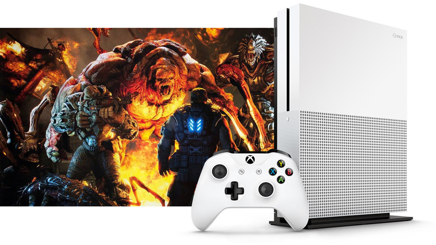 Microsoft's 4K-capable Xbox One S leaks before E3