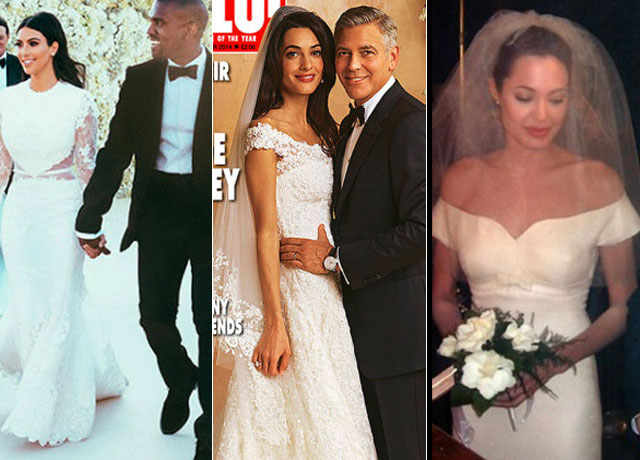 Celebrity Weddings 2014: All The Best Dresses From These Famous Brides