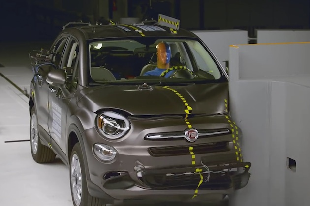 【ビデオ】ブランド初! 新型「フィアット 500X」が、米国IIHSの安全評価で最高評価を獲得