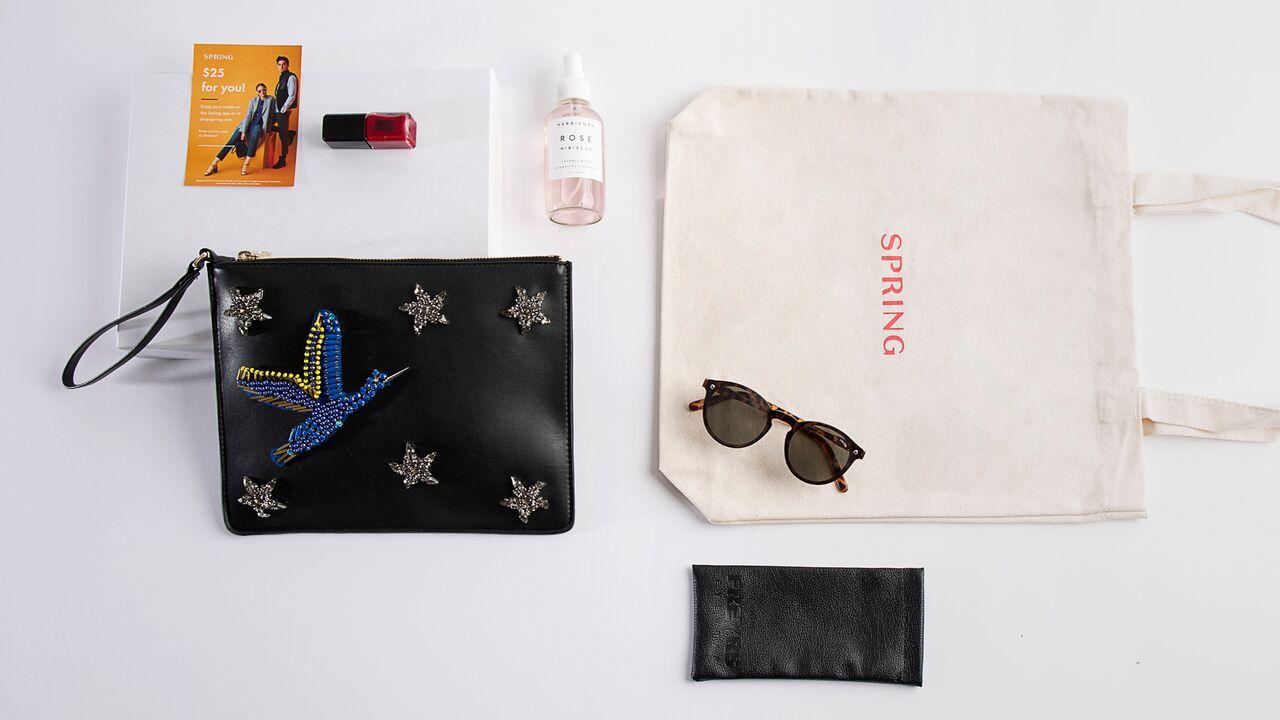 Spring x Postmates fashion week survival kits